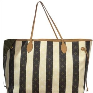 Louis Vuitton Neverfull XL Limited Stripe Rayures